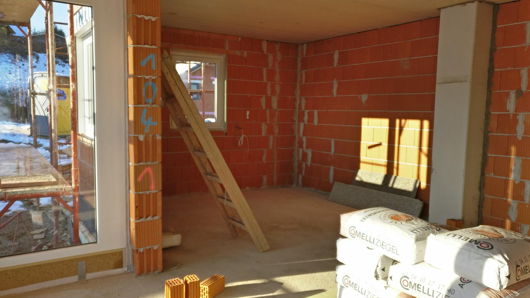 Winter Photoshooting - Elisabeth & Josef bauen ein Haus