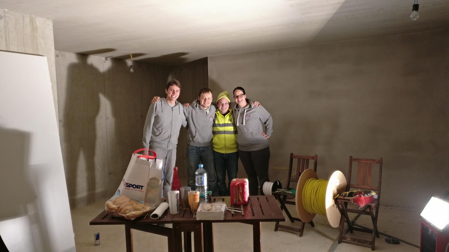 SAT und Netzwerk Verkabelung - Elisabeth & Josef bauen ein Haus